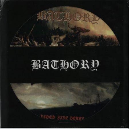 Bathory Blood Fire Death - RSD - Sealed 2014 UK picture disc LP BMPD6664