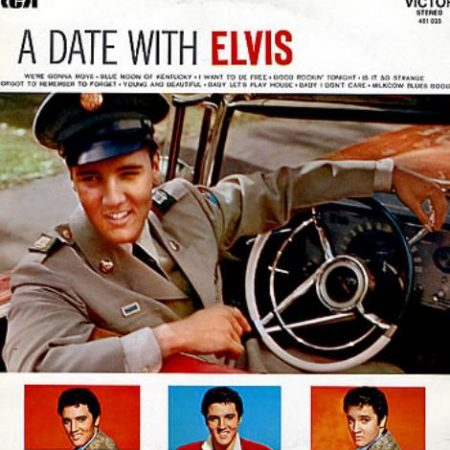 Elvis Presley A Date With Elvis French vinyl LP 461035