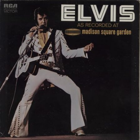 Elvis Presley As Recorded At Madison Square Garden 1972 USA vinyl LP LSP-4776