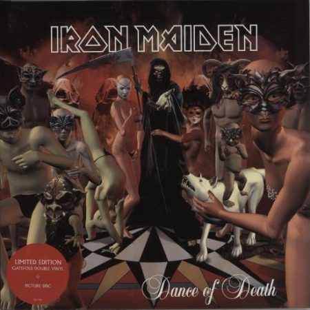 Iron Maiden Dance Of Death 2003 UK picture disc LP 5923401