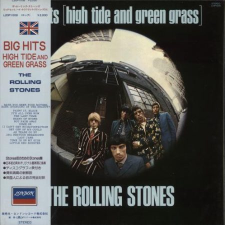 Rolling Stones Big Hits [High Tide And Green Grass] 1981 Japanese vinyl LP L20P1008