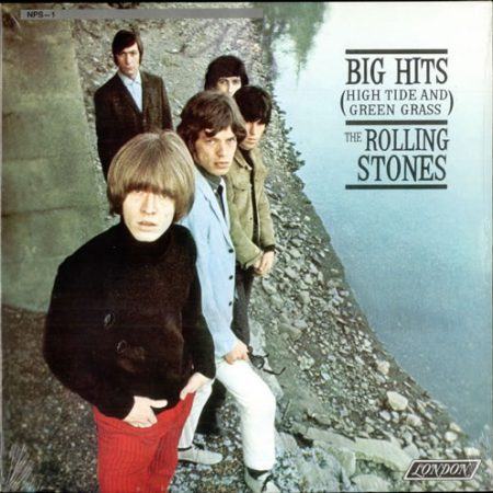 Rolling Stones Big Hits [High Tide And Green Grass] - Sealed 1990 Canadian vinyl LP 80011/NPS1