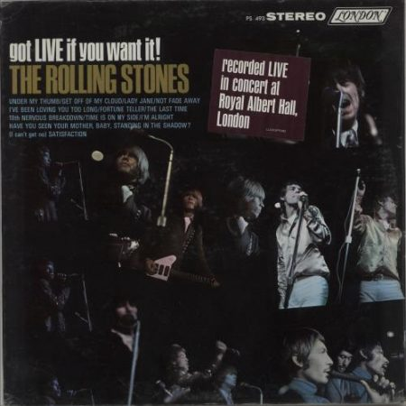 Rolling Stones Got Live If You Want It - 1st - Sealed 1966 USA vinyl LP PS493