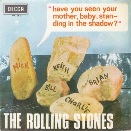 """Rolling Stones Have You Seen Your Mother 1966 Spanish 7"""" vinyl ME282"""