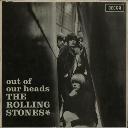 Rolling Stones Out Of Our Heads - 1st - VG 1965 UK vinyl LP LK4733