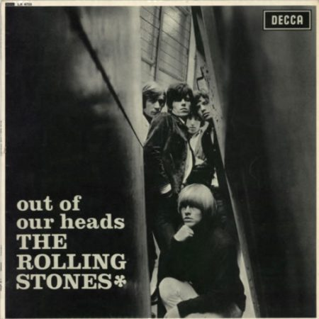 Rolling Stones Out Of Our Heads - 2nd - VG 1965 UK vinyl LP LK4733