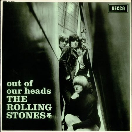 Rolling Stones Out Of Our Heads - Green Tinted Sleeve 1973 UK vinyl LP SKL4733