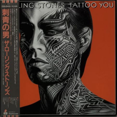 Rolling Stones Tattoo You + Poster 1981 Japanese vinyl LP ESS-81455