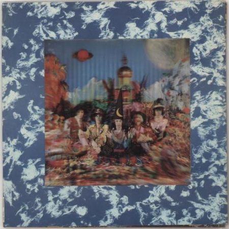 Rolling Stones Their Satanic Majesties Request - 2nd (4th Variant) 1968 UK vinyl LP TXS103