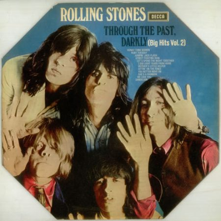 Rolling Stones Through The Past Darkly - 1st - Oct (French) 1969 French vinyl LP SKL5019