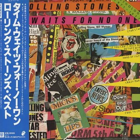 Rolling Stones Time Waits For No One / Anthology 1971-1977 1979 Japanese vinyl LP P-10684S