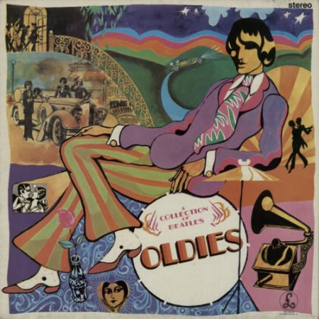 The Beatles A Collection Of Beatles Oldies - All Rights 1980 UK vinyl LP PCS7016