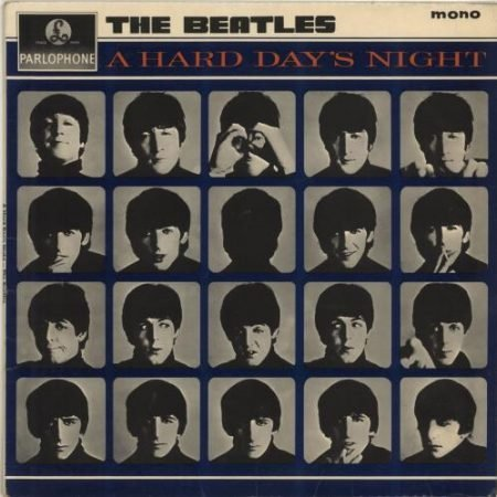 The Beatles A Hard Day's Night - 2nd - VG 1964 UK vinyl LP PMC1230