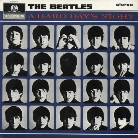 The Beatles A Hard Day's Night French vinyl LP 2C066-04145