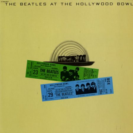 The Beatles At The Hollywood Bowl 1977 French vinyl LP 2C06806377