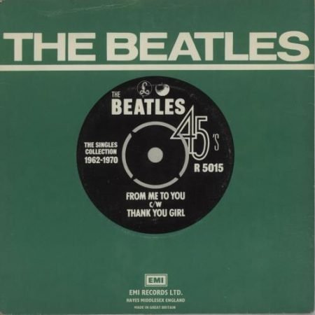 """The Beatles From Me To You - 1976 1976 UK 7"""" vinyl R5015"""
