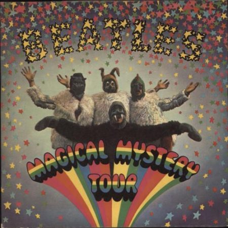 """The Beatles Magical Mystery Tour - 2nd 1970 UK 7"""" vinyl SMMT-1"""