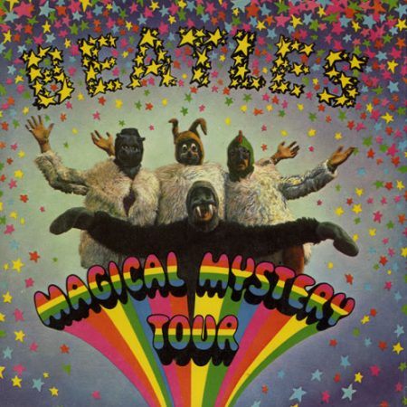"""The Beatles Magical Mystery Tour - 2nd - EX 1970 UK 7"""" vinyl SMMT-1"""