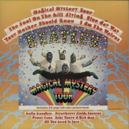 The Beatles Magical Mystery Tour - All Rights 1983 UK vinyl LP PCTC255
