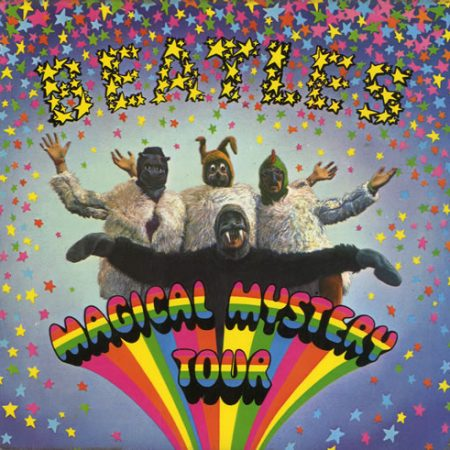 """The Beatles Magical Mystery Tour EP - 4th - EX 1973 UK 7"""" vinyl SMMT-1"""
