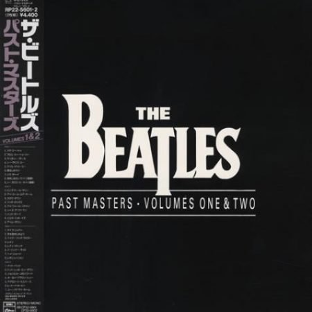 The Beatles Past Masters Volumes One & Two 1988 Japanese 2-LP vinyl set RP22-5601.2
