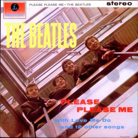 The Beatles Please Please Me - Early 80s - All Rights 1982 UK vinyl LP PCS3042