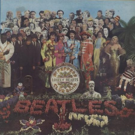 The Beatles Sgt. Pepper's Lonely Hearts Club Band 1976 Italian vinyl LP 3C064-04177
