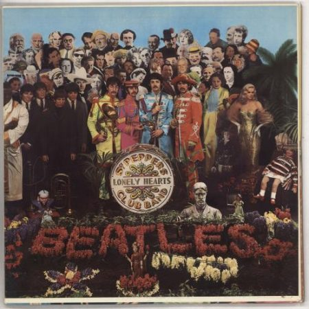 The Beatles Sgt. Pepper's Lonely Hearts Club Band - 1st 1967 USA vinyl LP MAS2653