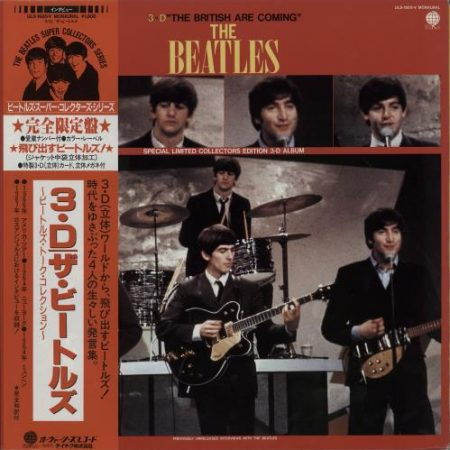 The Beatles The British Are Coming Japanese vinyl LP ULS-1920-V