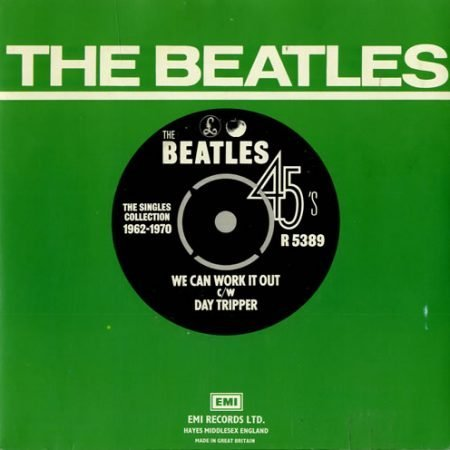 """The Beatles We Can Work It Out - 1976 1976 UK 7"""" vinyl R5389"""