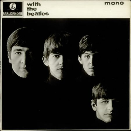 The Beatles With The Beatles - 2nd - EX 1963 UK vinyl LP PMC1206