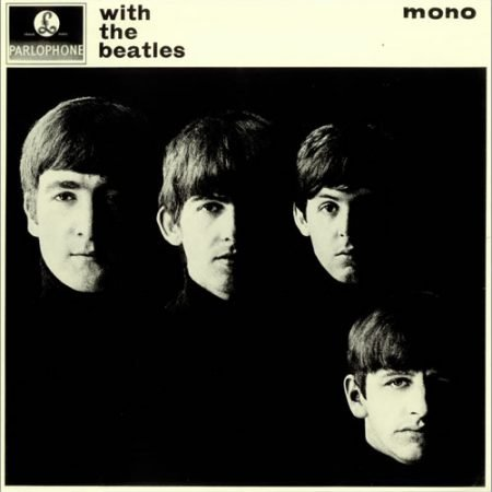 The Beatles With The Beatles - 2nd G&L - VG 1963 UK vinyl LP PMC1206