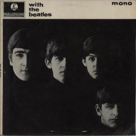 The Beatles With The Beatles - 2nd - Gotta - VG 1963 UK vinyl LP PMC1206