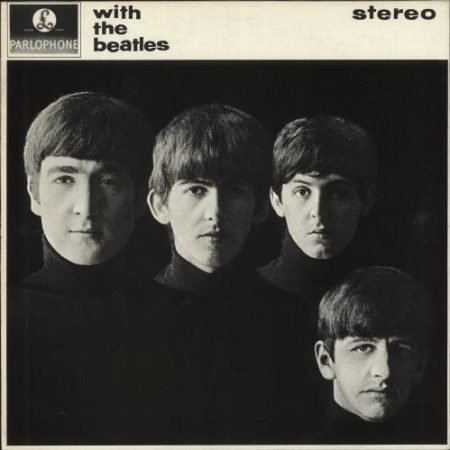 The Beatles With The Beatles - All Rights UK vinyl LP PCS3045