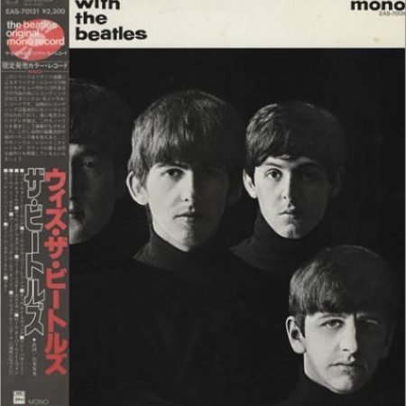 The Beatles With The Beatles - Red + 82 Obi 1982 Japanese vinyl LP EAS-70131