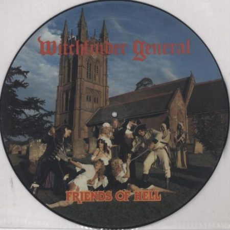 Witchfinder General Friends Of Hell 1983 UK picture disc LP HMRPD13